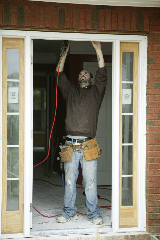 Fixing doorway