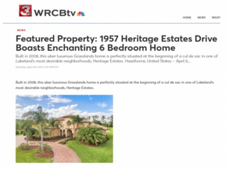 MSNBC Feature Luxury Homes