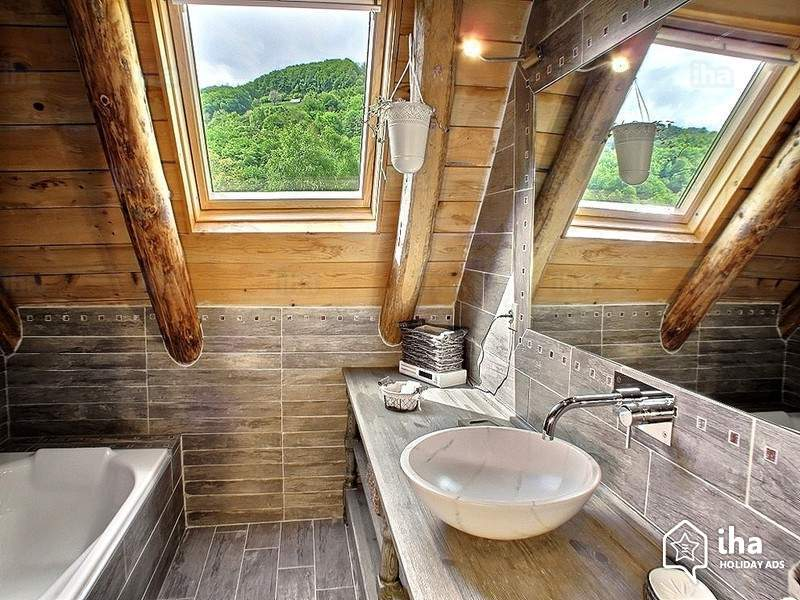 Rustic Beautiful Bathroom